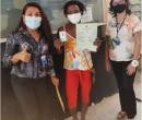 Paola Amaral, agredida na frente de policiais, emite RG e é acolhida em Teresina