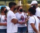 Caso Camila Abreu: familiares e amigos protestam e pedem justiça em frente ao TJPI