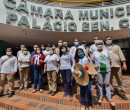 Em protesto, Agentes de Saúde de Teresina pedem auxílio transporte em dinheiro