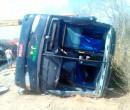 Ônibus tomba na região de Colônia do Gurguéia e deixa três mortos na BR 135