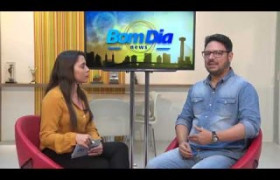 BOM DIA NEWS 16 07  Entrevista Alberto Moura - dir. marketing Sistema O Dia