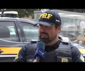 TV O Dia - BOM DIA NEWS 25 06 PRF passou a ser rota do tráfico de drogas