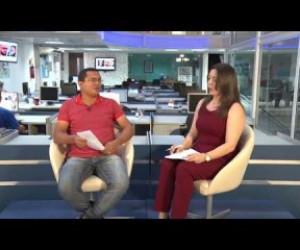 TV O Dia - BOM DIA NEWS 26 06 Entrevista com João Magalhães - editor de política Jornal O Dia