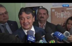 O DIA NEWS 01 07  Governador Wellington Dias fala sobre a queda de recursos do fundo de participaç