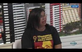 O DIA NEWS 04 07  Entrevista com Paulina Almeida   Presidente do SINTE