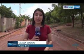 O DIA NEWS 08 07  Rompimento em adutora no Parque Brasil provoca falta d'agua