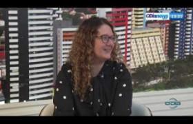 O DIA NEWS 12 07  Entrevista com Carina Câmara - Subsecretária do Turismo