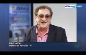 O DIA NEWS 16 07  Prefeito Mão Santa sobre a visita do Pres. Jair Bolsonaro ao Piauí
