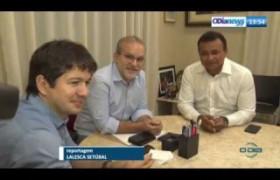 O DIA NEWS 22 07  Pref. Firmino Filho e Sec. Seg. Fábio Abreu sobre o sist. de monit. da capital