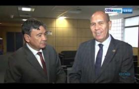 O DIA NEWS 26 07  Encontro entre o Gov. Wellington Dias e Aníbal Diniz (pres. ANATEL)
