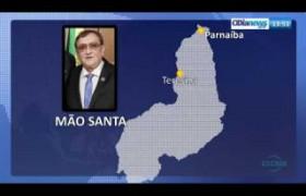 O DIA NEWS 31 07  Pref. de Parnaíba Mão Santa confirma a visita do Pres. Jair Bolsonaro ao Piaui�