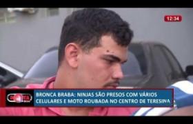 ROTA DO DIA 01 07  Ninjas presos com moto e celulares roubados