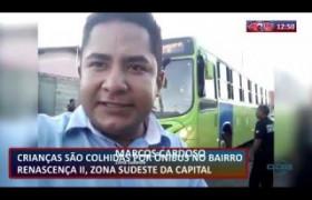 ROTA DO DIA 17 07  Crianças são atropeladas por ônibus no bairro Renascença II