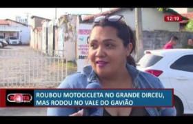 ROTA DO DIA 21 06  Bandido rouba moto no Grande Dirceu mas é preso no Vale do Gavião