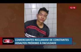 ROTA DO DIA 24 06  Comerciantes reclamam de constantes assaltos próximo à faculdade