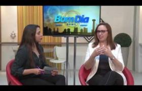 BOM DIA NEWS 20 08  Viviane Moura - superint. de Parcerias e Concessões do Estado