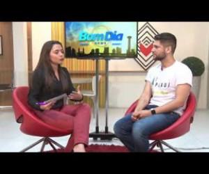 TV O Dia - BOM DIA NEWS 22 08 Diego Oliveira (organizador do 1º Fórum Piauí Inspiração)