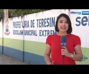 TV O Dia - O DIA NEWS 23 08 Falta de segurança nas escolas públicas de Teresina