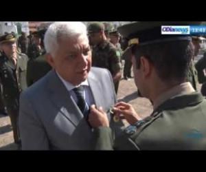 TV O Dia - O DIA NEWS 23 08  Presidente do Sistema O Dia agraciado com a medalha do Exército Brasileiro