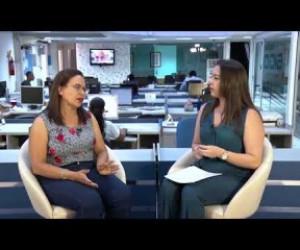 TV O Dia - O DIA NEWS 2a  Ed  23 08  Nilcélia Cardoso (dir. Ação Cultural da Secult)