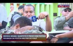 ROTA DO DIA 19 08  Quarteto é preso com pistola roubada da PM PI