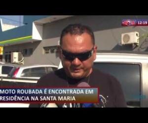 TV O Dia - ROTA DO DIA  21 08  Moto roubada é encontrada em residência na Santa Maria da Codipi