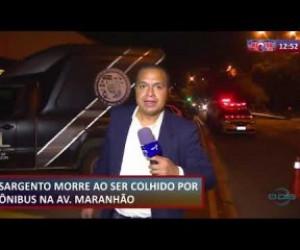 TV O Dia - ROTA DO DIA 21 08 Sargento morre ao ser colhido por ônibus na Av Maranhão