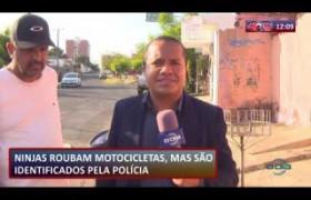ROTA DO DIA 23 08  Bandidos roubam moto mas são identificados pela polícia