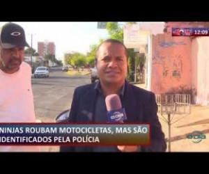TV O Dia - ROTA DO DIA 23 08  Bandidos roubam moto mas são identificados pela polícia