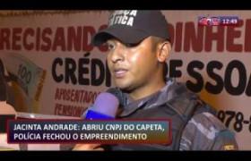 ROTA DO DIA 28 08  Boca fechada no bairro Jacinta Andrade