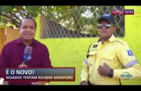 ROTA DO DIA 29 08  Bandidos tentam roubar semáforo na zona sul de Teresina