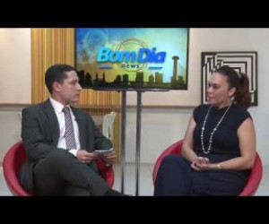 TV O Dia - BOM DIA NEWS 17 09  Tânia Miranda (Madrinha do Outubro Rosa 2019)