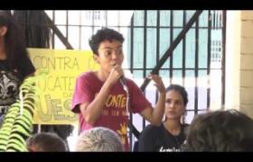 BOM DIA NEWS 26 09  Alunos fazem paralisação e ocupam o Campus da UESPI Dirceu