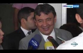 O DIA NEWS 17 09  Gov. Wellington Dias fala sobre os pré candidatos à Prefeitura de Teresina
