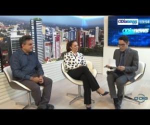 TV O Dia - O DIA NEWS 17 09 Luiz Ayrton e Tânia Miranda falam sobre o Outubro Rosa