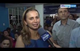 O DIA NEWS 17 09  Pref  Carmelita Castro fala sobre a sua cassação