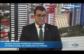 O DIA NEWS 18 09  Thiago Carcará - 1º Congresso Intern. de Direitos Culturais