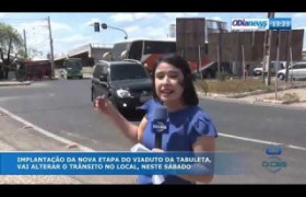 O DIA NEWS 20 09  Trânsito interditado na Tabuleta
