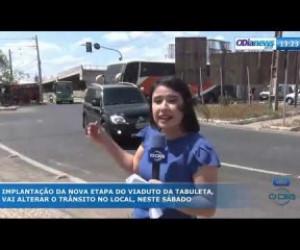 TV O Dia - O DIA NEWS 20 09 Trânsito interditado na Tabuleta