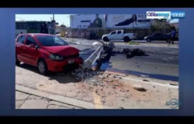 O DIA NEWS 24 09  Aumento de 37% nos acidentes com quebra de postes