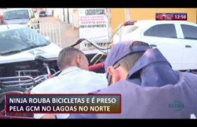 ROTA DO DIA 03 09  Bandido rouba bicicletas e é preso no Lagoas do Norte