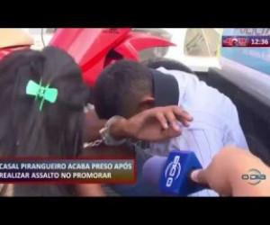 TV O Dia - ROTA DO DIA 19 09  Casal acaba preso após realizar assalto no Promorar