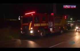 ROTA DO DIA 19 09  Princípio de incêndio no bairro Tabuleta