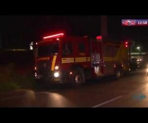 TV O Dia - ROTA DO DIA 19 09  Princípio de incêndio no bairro Tabuleta