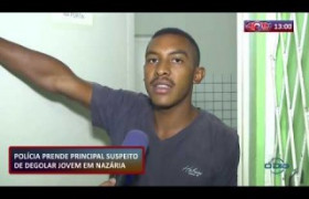 ROTA DO DIA 25 09  Polícia prende principal suspeito de degolar jovem em Nazária