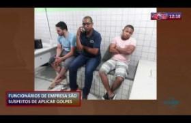ROTA DO DIA 26 09  Funcionários suspeitos de aplicar golpes na empresa