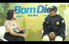 BOM DIA NEWS 07 10  Insp. Alexsandro Lima (chefe NUCOM PRF-PI)