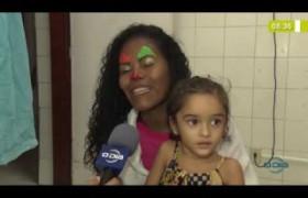 BOM DIA NEWS 08 10  Projeto Estampido no Hosp. Infantil Lucídio Portella