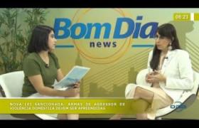 BOM DIA NEWS 11 10  Karla Oliveira (membro da Comissão da Mulher Advogada)