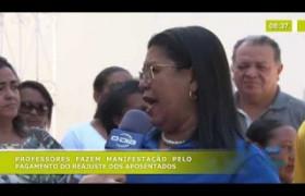 BOM DIA NEWS 17 10  Manifestação dos professores da rede estadual